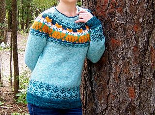 Foxy Sweater by Natalia Moreva