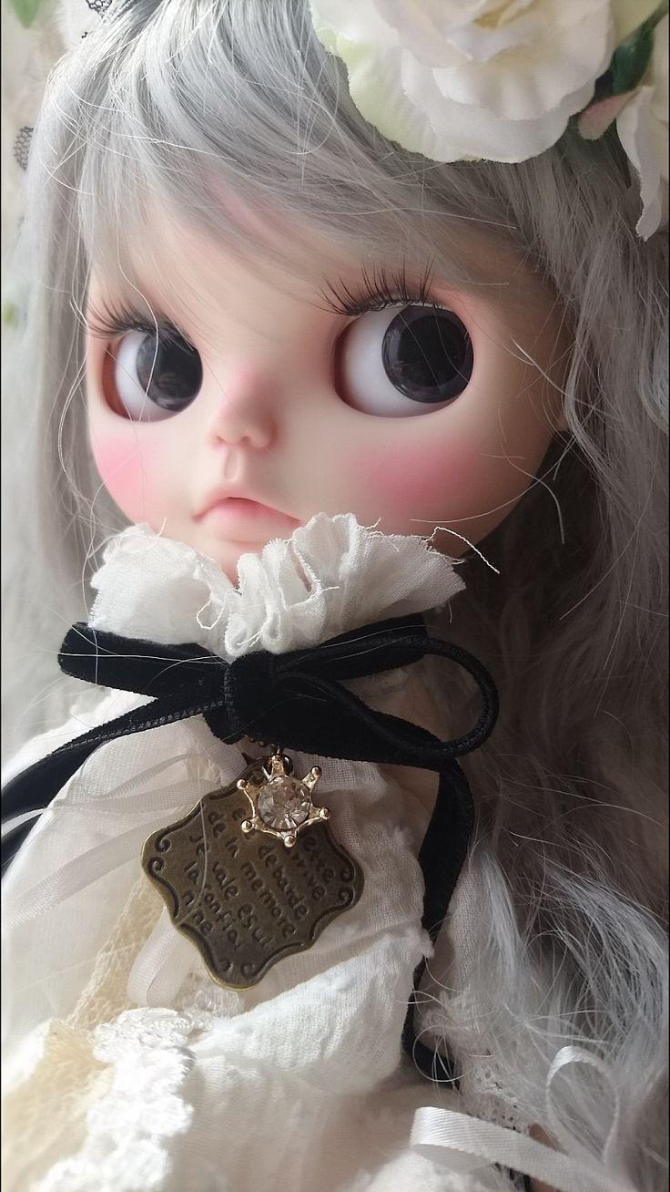 カスタムブライス「Sweet cat♪」白猫 春 アニマル |ayuのすきなものブログ