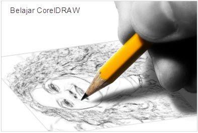 Cara Membuat Sketsa Pensil Dari Foto | Belajar CorelDRAW