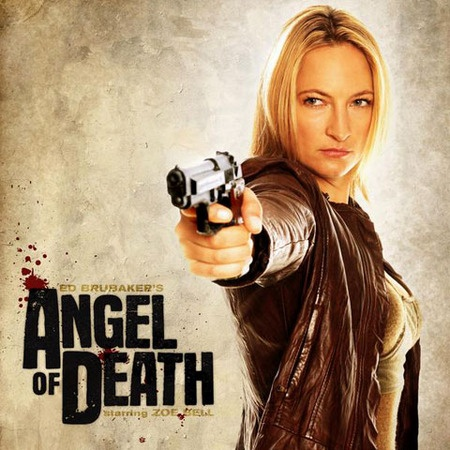 """""""Angel Of Death"""" stars Zoe Bell as a stoic hired assassin, whose life takes a turn when a hit goes awry, a teen dies, and six inches of cold steel wind up in her cranium."""