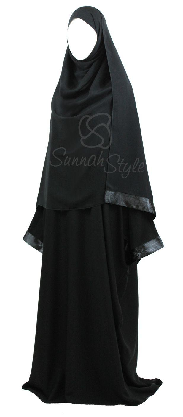 Reflection Bisht Abaya by Sunnah Style #SunnahStyle #bisht #satin #abayastyle