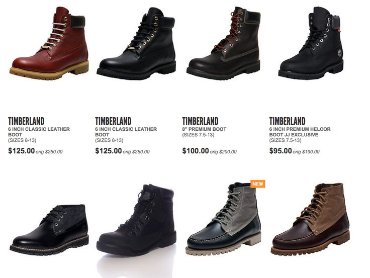 Take 50% Off Timberland 6 Inch Boots And More!