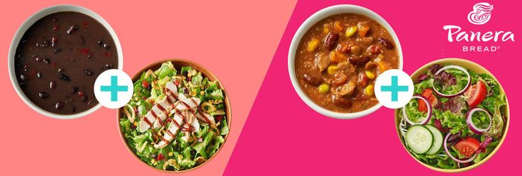 Panera Bread's Clean Pairings Menu, with 500 Calories or Less 2-2016