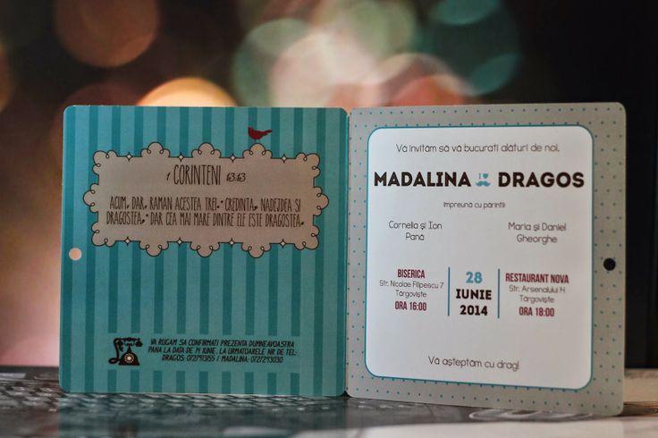 Povestea unei invitații de nuntă | Detalii de nunta