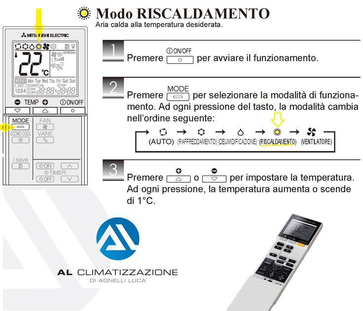 #freddo #caldo.... in 3 mosse come attivare la modalità #riscaldamento del tuo #climatizzatore #BRESCIA domani 22/09/2017 #equinozio d'#autunno
