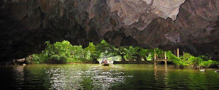 Ninh Binh - Tam Coc. #vietnam #cestovani #jeskyně #ninhbinh #trangan #tamcoc
