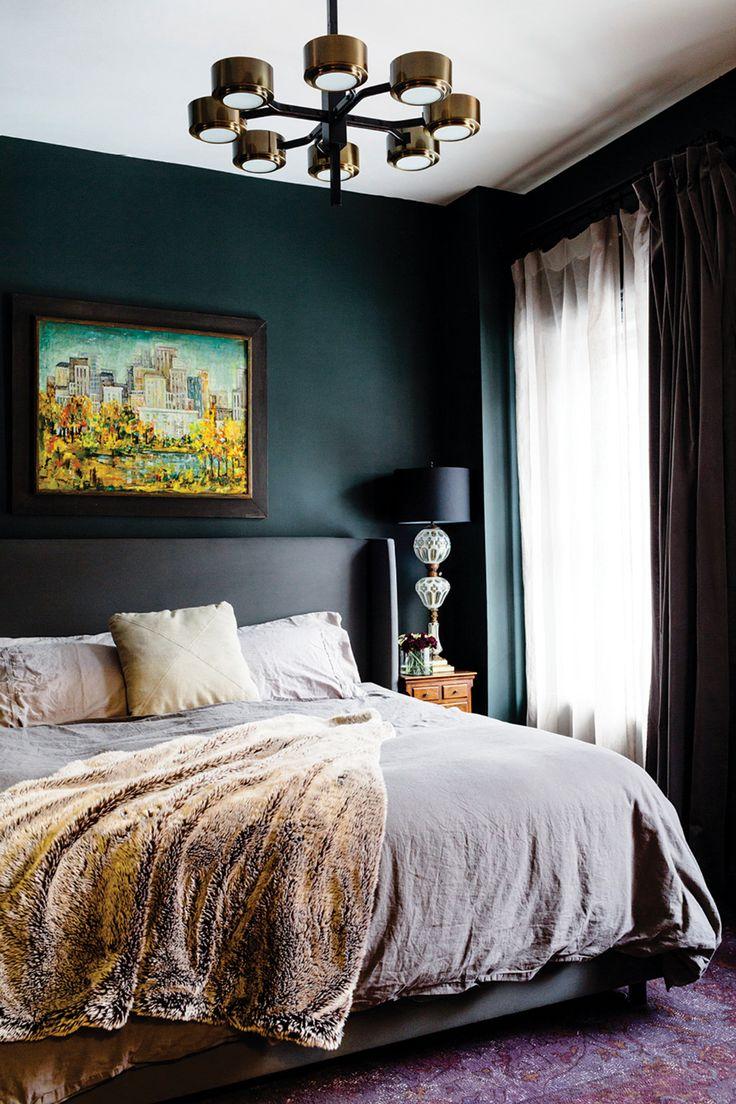 dark bedroom wall idea Best 25+ Green bedrooms ideas on Pinterest   Green bedroom design, Bedrooms and Light green bedrooms