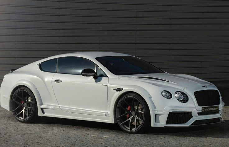Bentley Continental GT Speed Onyx in Ice White triple Pearl