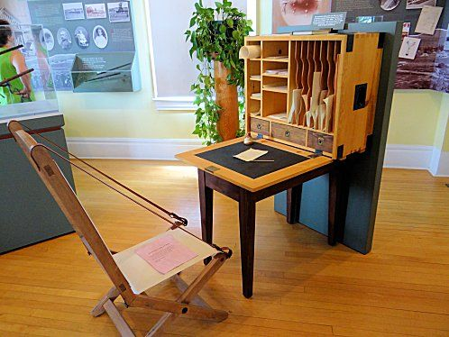 Portable Writing Desk Plans Woodworking Projects Amp Plans