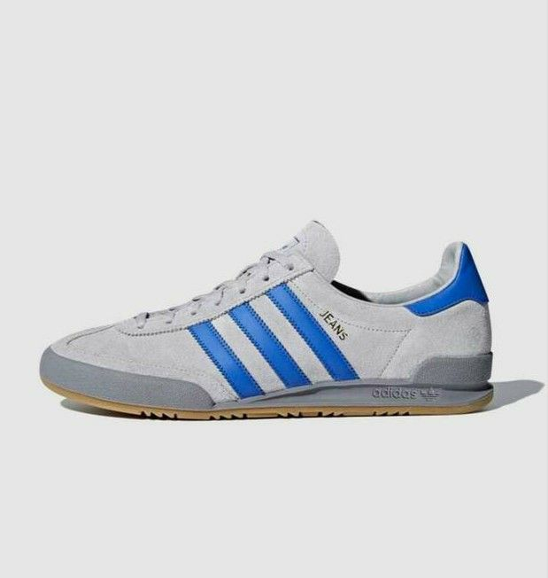 New Adidas Jeans release in grey suede