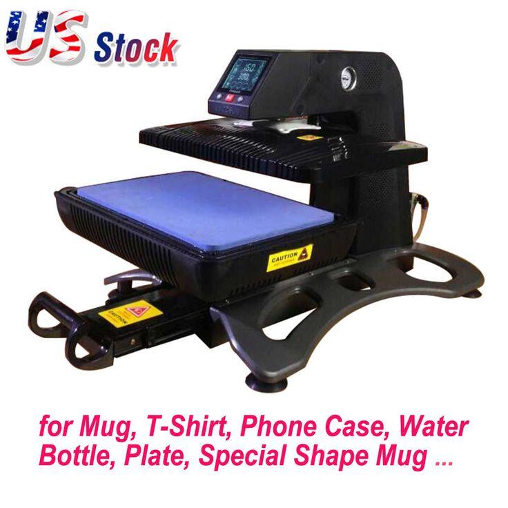 USA 110V Multifunction 3D Sublimation Vacuum Heat Press
