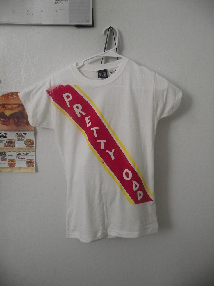 Panic! at the Disco - Pretty Odd Parade Shirt. I NEED this!!! <3