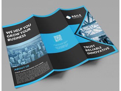 Creative corporate tri fold brochure vol 16 | Ideas Laudiovisual ...