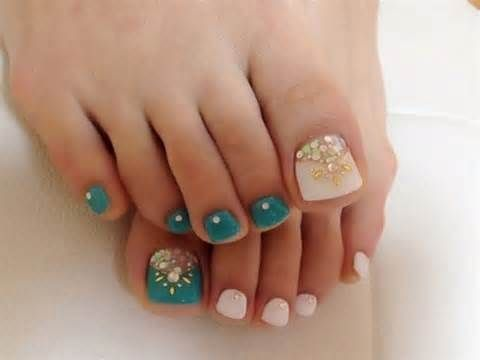 toe nail art #summer #nails #paulitastyves