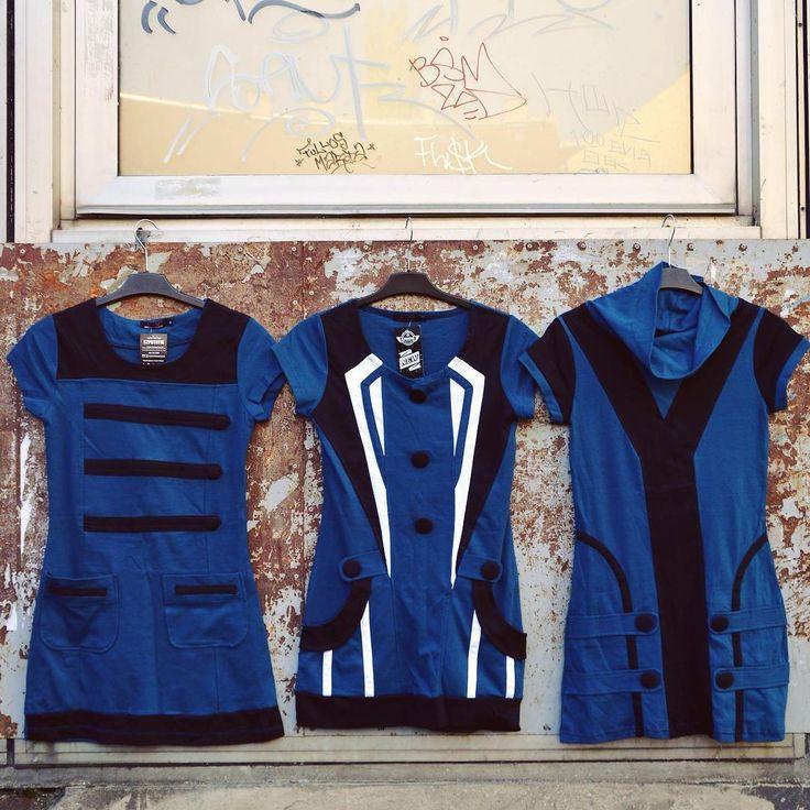 True blue 💙 #geometric #cut #winter #musthave #dress #szputnyikshop #szputnyik #budapest #blue #black #minimal #edgy #cotton #streetstyle #bodyshaping #symmetry #opart #popart #sixties #60s #twiggy #minidress #