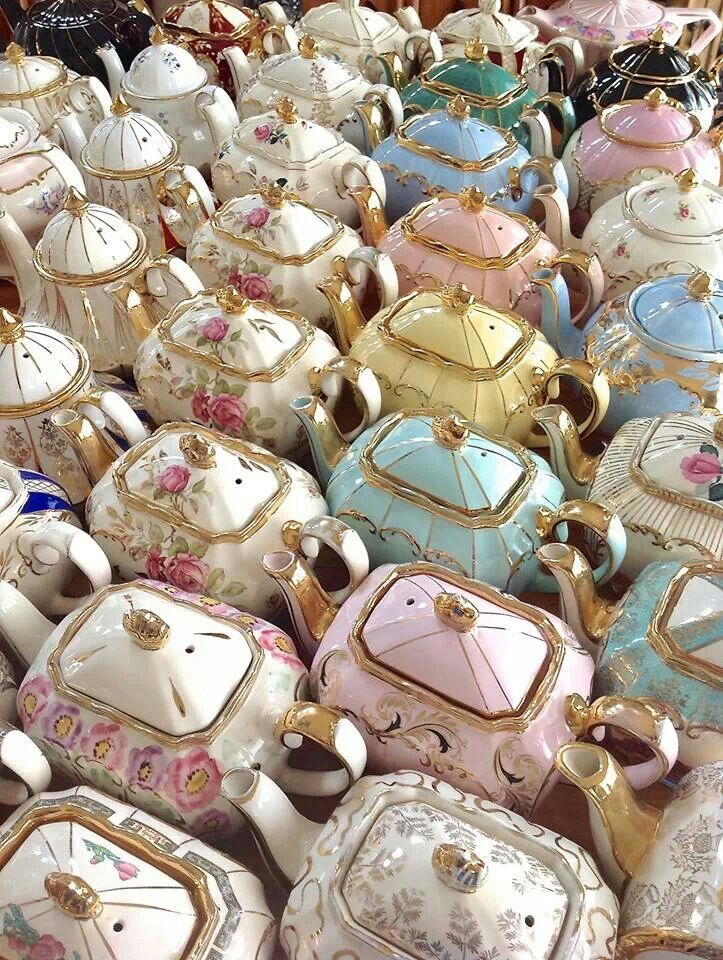 Teapots are like potato chips... You can't have just one
