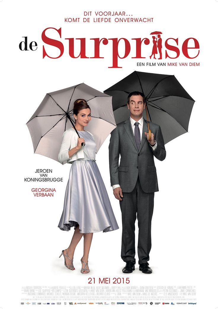 De Surprise, Nederlandse speelfilm die in de bioscoop draait. Vandaag, op mijn vrije dagje, ga ik hier naartoe. Ik ga graag naar de bioscoop.