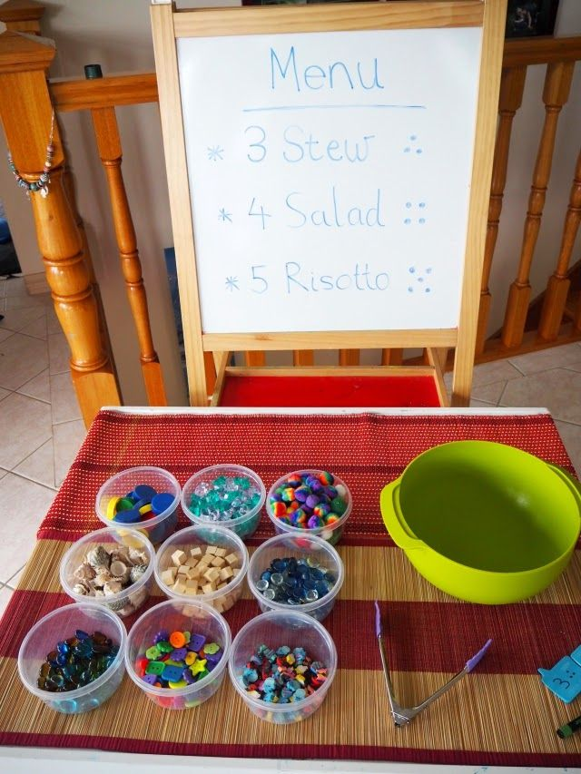 Learn with Play. Number Chef. Fun, hands-on number learning game for kids.