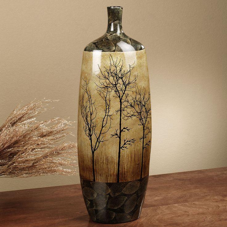 Bare Trees Floor Vase Multi Earth