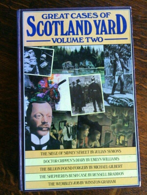 Great Cases Scotland Yard Volume Two Hardcover 1st Edition illustrated 1978 Book | eBay