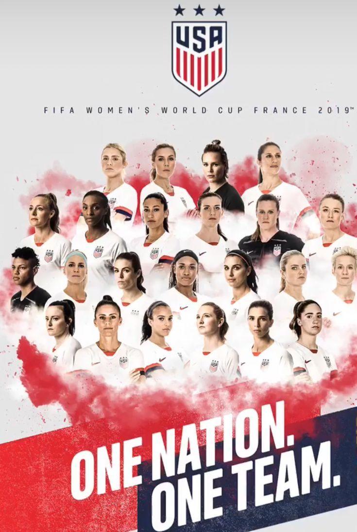 Women S Word Cup 2019 France Usa Soccer Women Usa Soccer Team Us Women S National Soccer Team