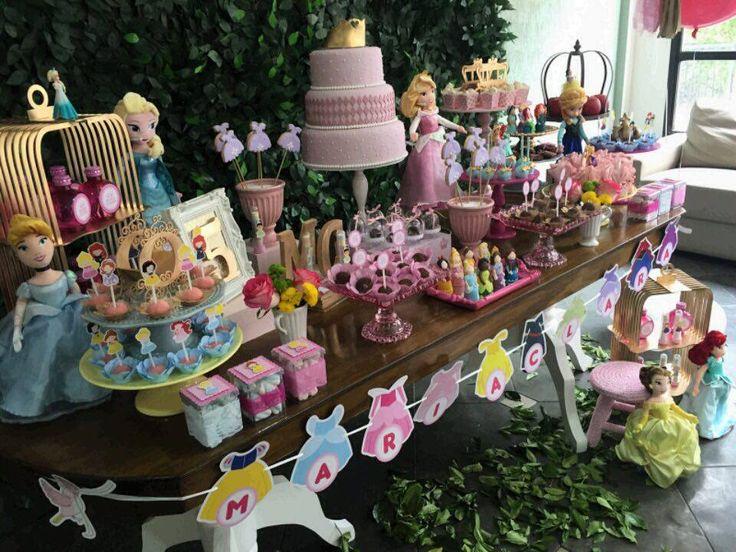 Festas completas, Decoração, doces, comes e bebes,mesa, princesa, disney, aniversario,partie, party, design