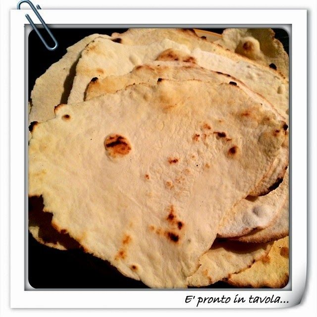 E' pronto in tavola...: Tortillas di farina