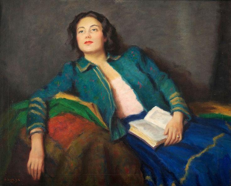 Αποτέλεσμα εικόνας για Beautiful woman reading book in painting