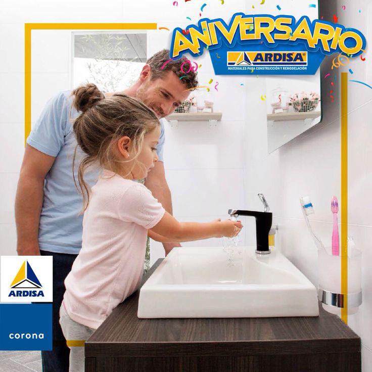 Si tu baño necesita un cambio de apariencia puedes aprovechar las promociones del aniversario Ardisa para hacerlo realidad.