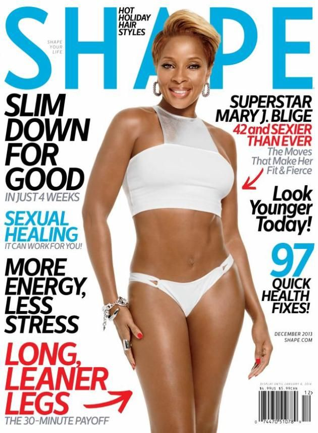 Mary J. Blige Shows Off Abs, Talks Death of Whitney Houston