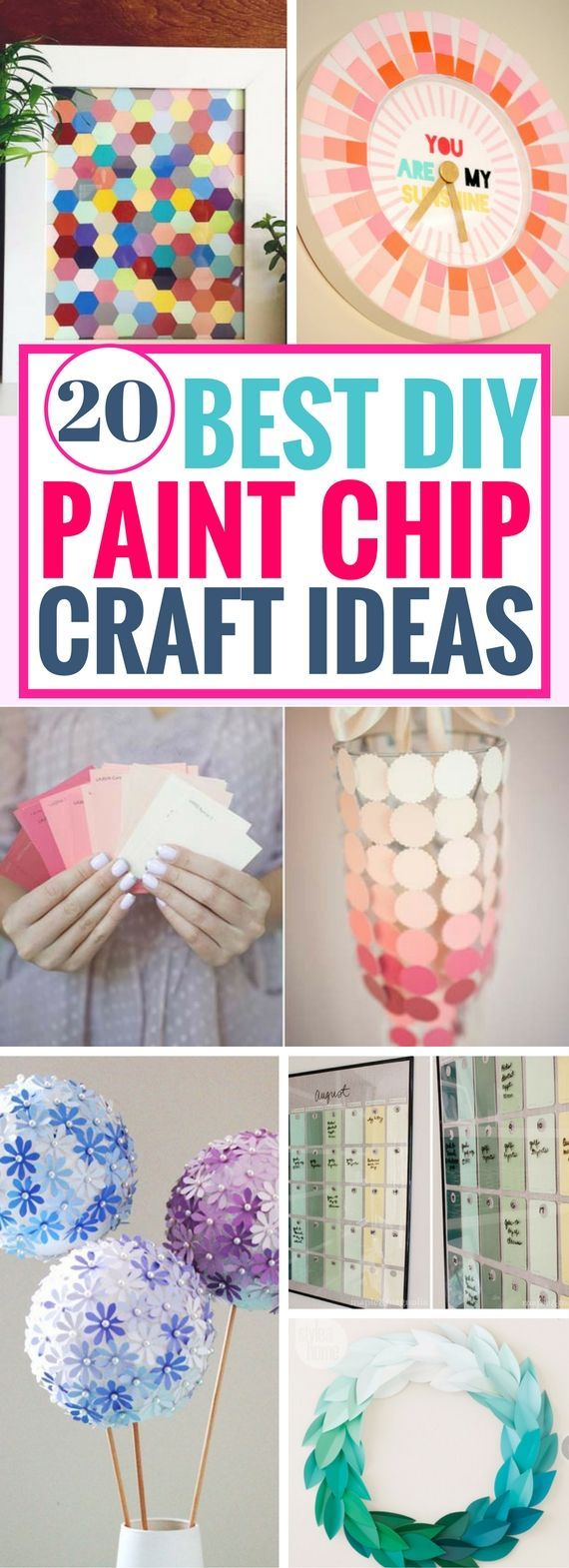 20 Finest Paint Chips Craft Concepts You will Remorse Not Realizing