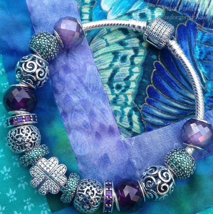 657a1b2b3 pandora clip turquoise