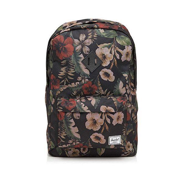 Herschel Urban print backpack ($45) ❤ liked on Polyvore featuring bags, backpacks, herschel bags, herschel rucksack, herschel backpack, logo bags and laptop rucksack