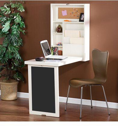 Variável folding multi-função estante de parede-montado, mesa de bar, família pequena mesa do computador desk na parede