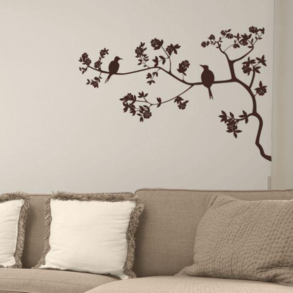 Best Wall Decals Images On Pinterest Wall Stickers Tree - Wall decals birdsbirds couple on branch wall decal beautiful bird vinyl sticker