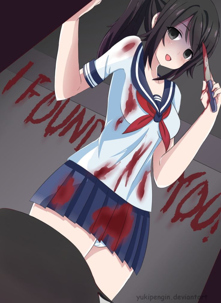 Yandere-chan:  Now we can live happliy ever after  Sorry for my bad english