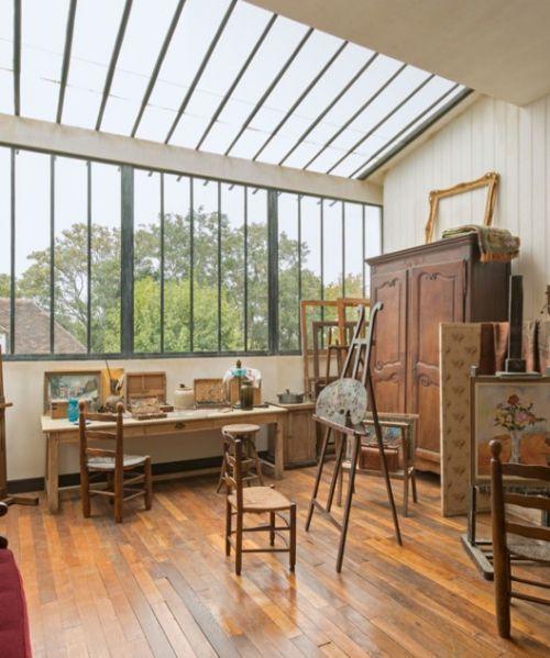 atelier de Suzanne Valadon et de son fils Maurice Utrillo,12 rue Cortot à Montmartre