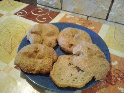 Pan de gluten.cambio 6 c.s. por 9 de avena y añado una mas de gluten.
