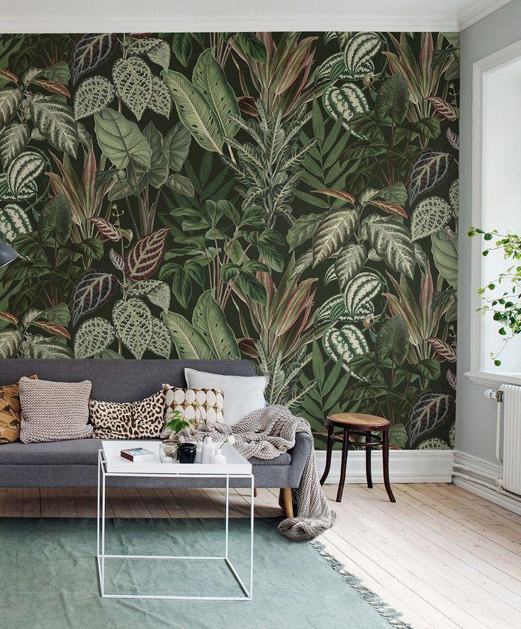 308 best Bedruckte Tapeten Blumen, Pflanzen, Tiere images on