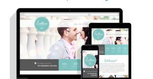 Wedding agencies, photography and personal wedding pages can be built with the help of this responsive Wedding Venues Website Template.