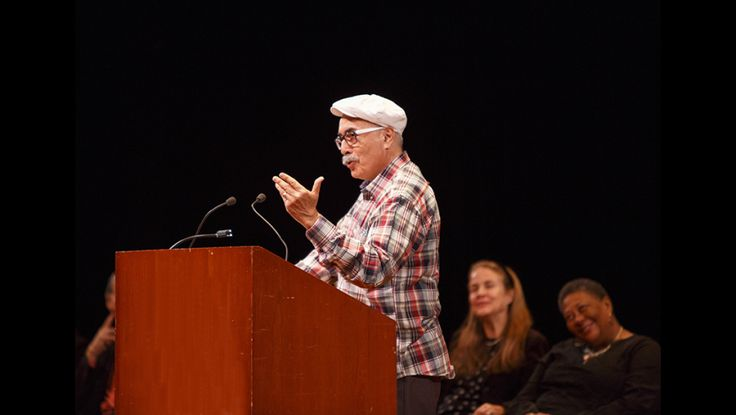 U.S. Poet Laureate and Academy of American Poets Chancellor Juan Felipe Herrera