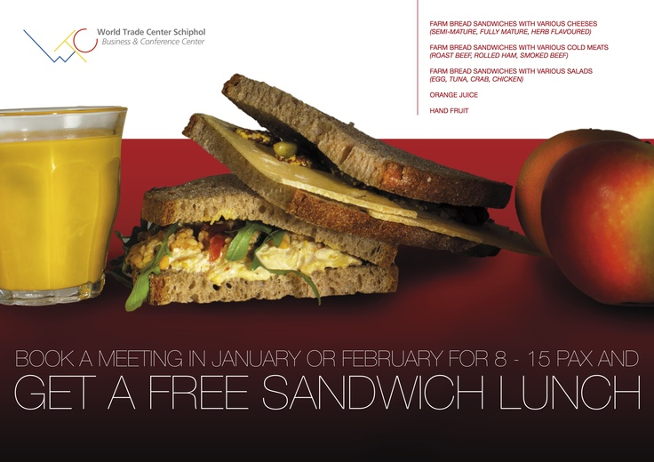 WTC Business & Conference Center promotion February 2012. Designed by Roemer Overdiep