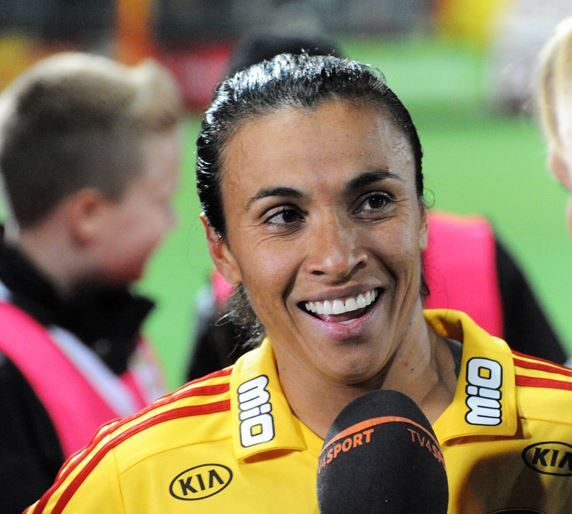 01. Marta Vieira – $400,000 Top 10 Highest Paid Female Soccer Players 2015:- http://www.sportyghost.com/top-10-highest-paid-female-soccer-players/ #soccer #football #uswnt