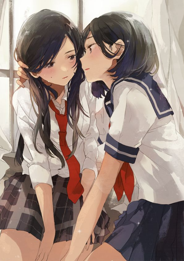Yuri art found on Pixiv and twitter. Everything that is posted here will be SFW and sourced. I own none of the pictures posted here. Will resond to messages, come and say hi.