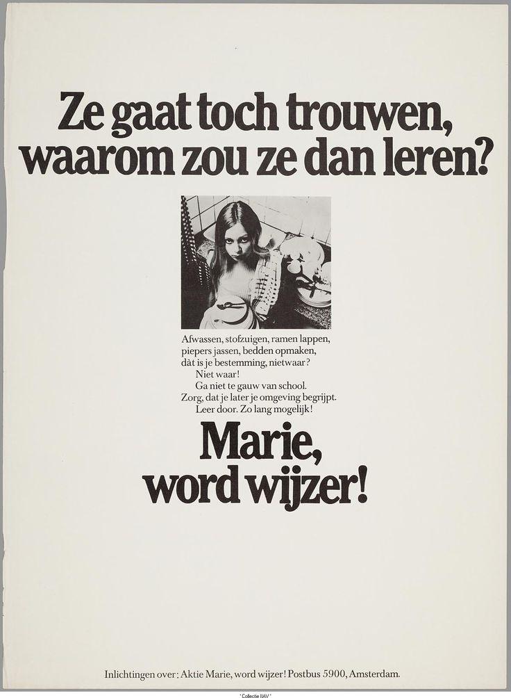 Marie, word wijzer!  (Man Vrouw Maatschappij (1972))