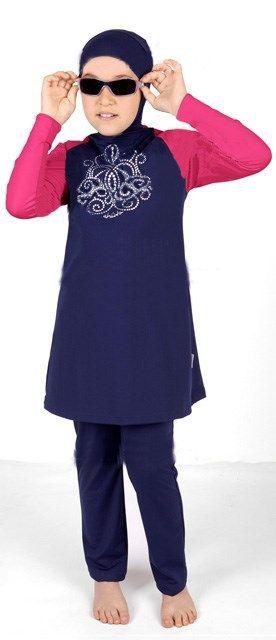 Hight quality fashionable islamic clothing for children muslim swimwear   Confira um novo artigo em http://importarroupas.blog.br/products/hight-quality-fashionable-islamic-clothing-for-children-muslim-swimwear/