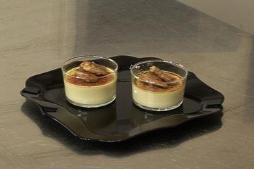 Recette de Crème brûlée au foie gras et sauternes