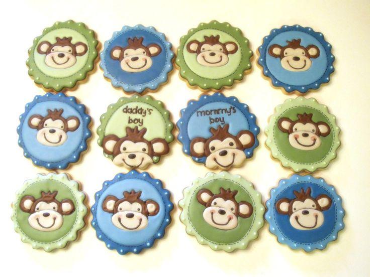 Monkey Set: Bottlecap, Decor Cookies, Monkey Sets, Sweet Hope, Hope Cookies