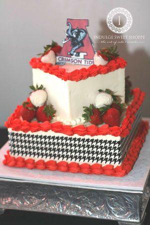 Alabama Gators Wedding Cake