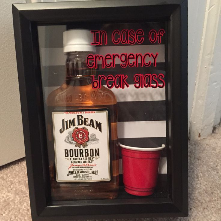 1000 images about in case of emergency gifts on pinterest for Easy break glass bottles